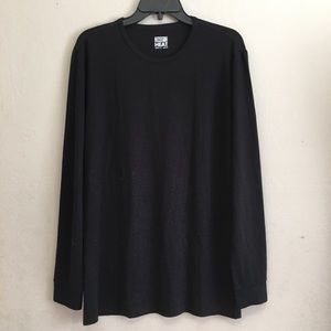 32 Degrees Soft Long Sleeve black Winter Layer